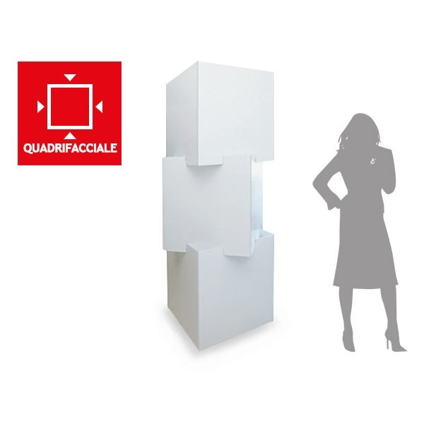 Totem modulare 3 cubi